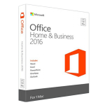 Microsoft Office 2016 Home & Business (1 MAC) (MAC Version)