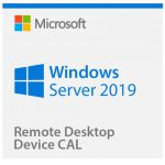 Microsoft Windows Server 2019 Remote Desktop 5-Device CAL License